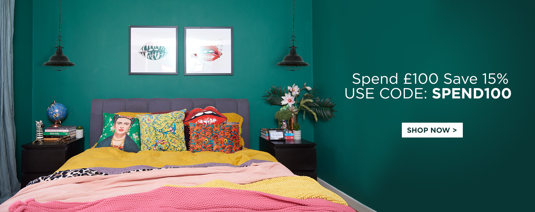 Spend And Save - Spend £100 Save 15%