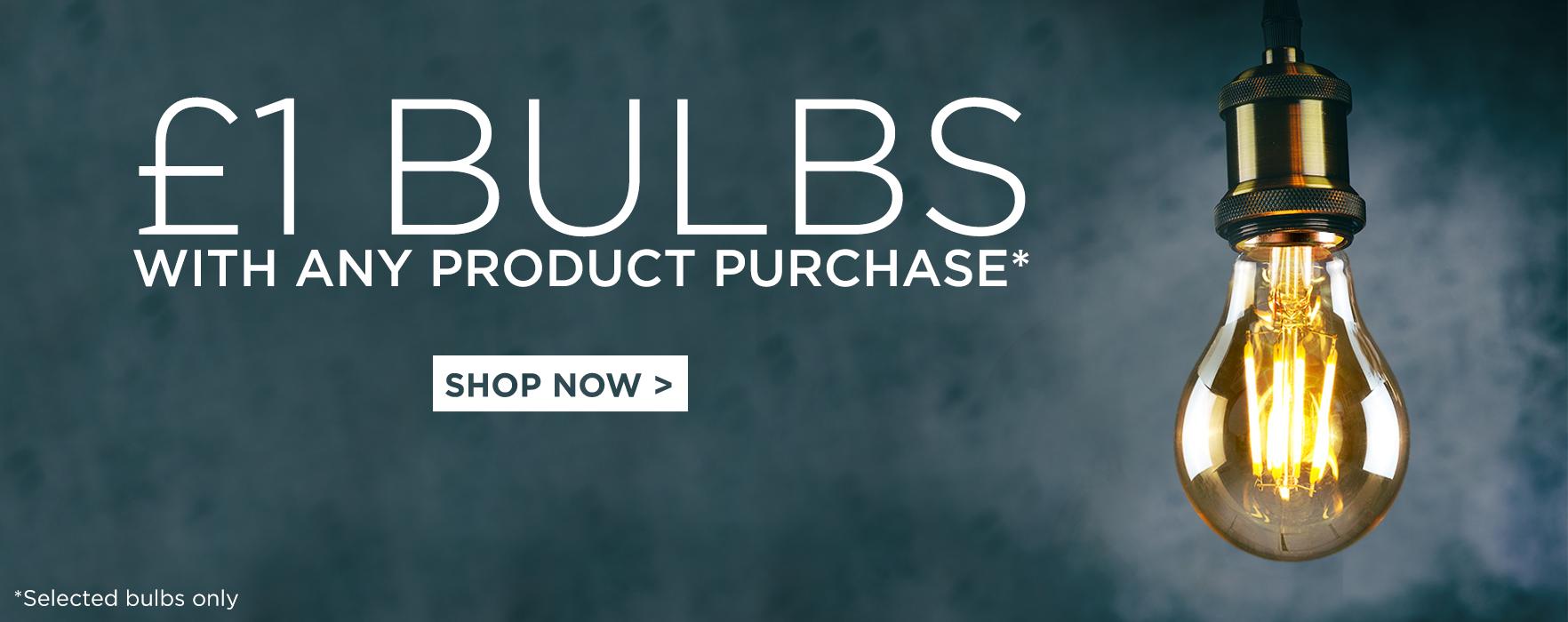 £1 Bulbs Offer 16.11.18
