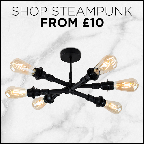 Shop Steampunk Lighting From £10