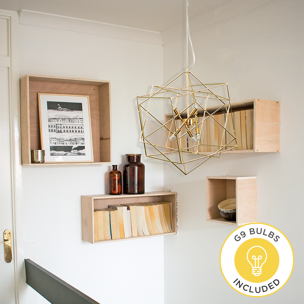 Iconic Phara Intertwined Ceiling Pendant by Grillo Designs Just £105