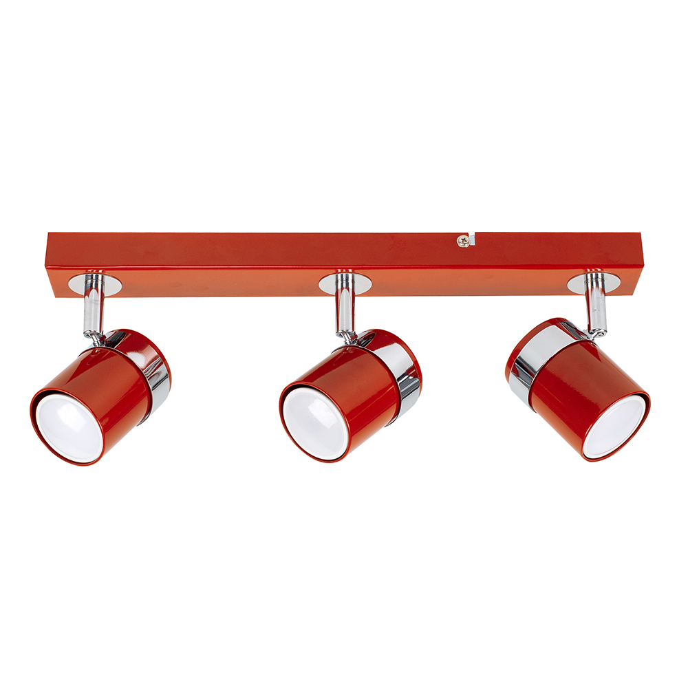 Rosie 3-Way Spotlight Bar in Red