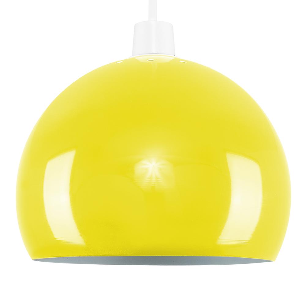 Mini Arco Yellow Pendant Shade