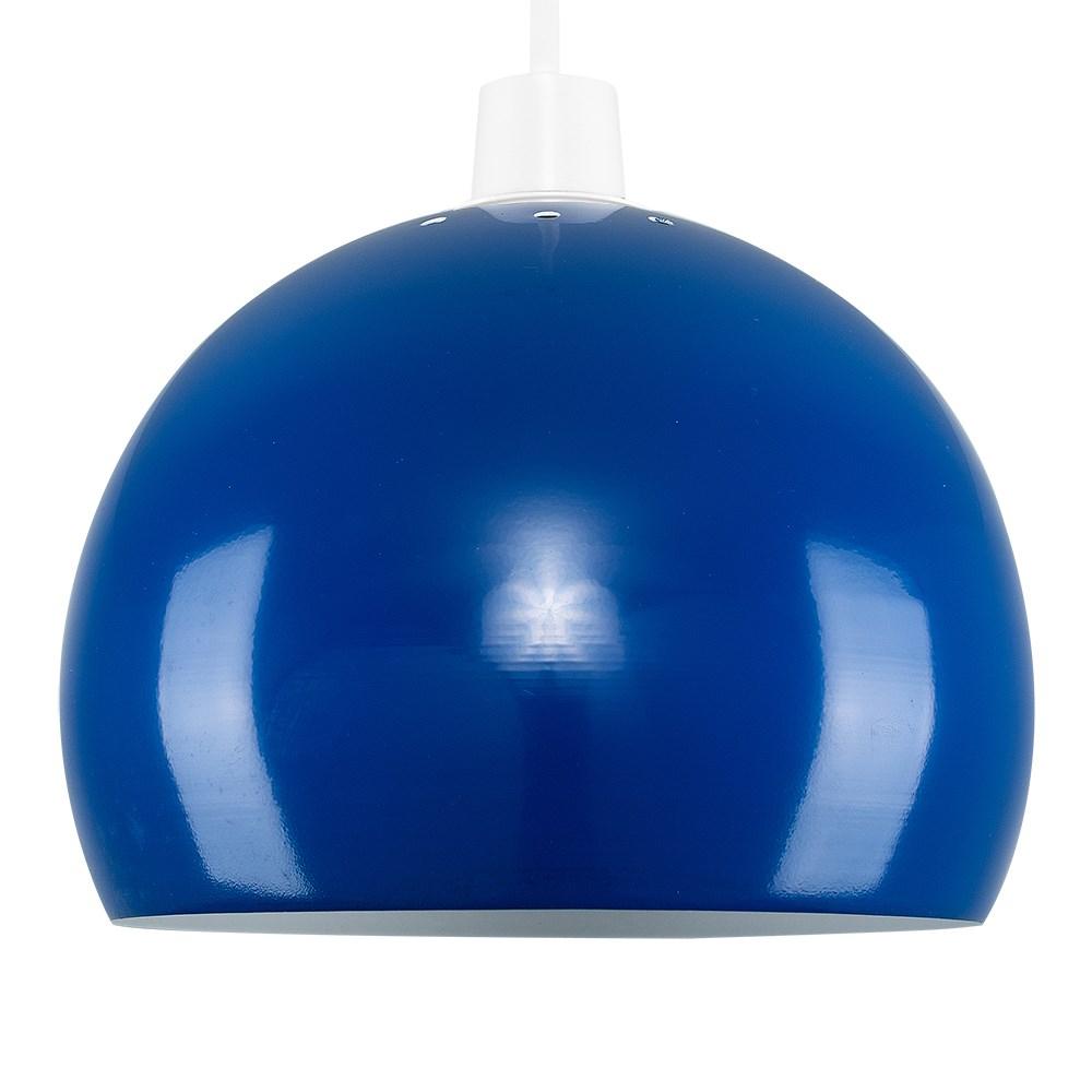 Mini Arco Navy Blue Pendant Shade