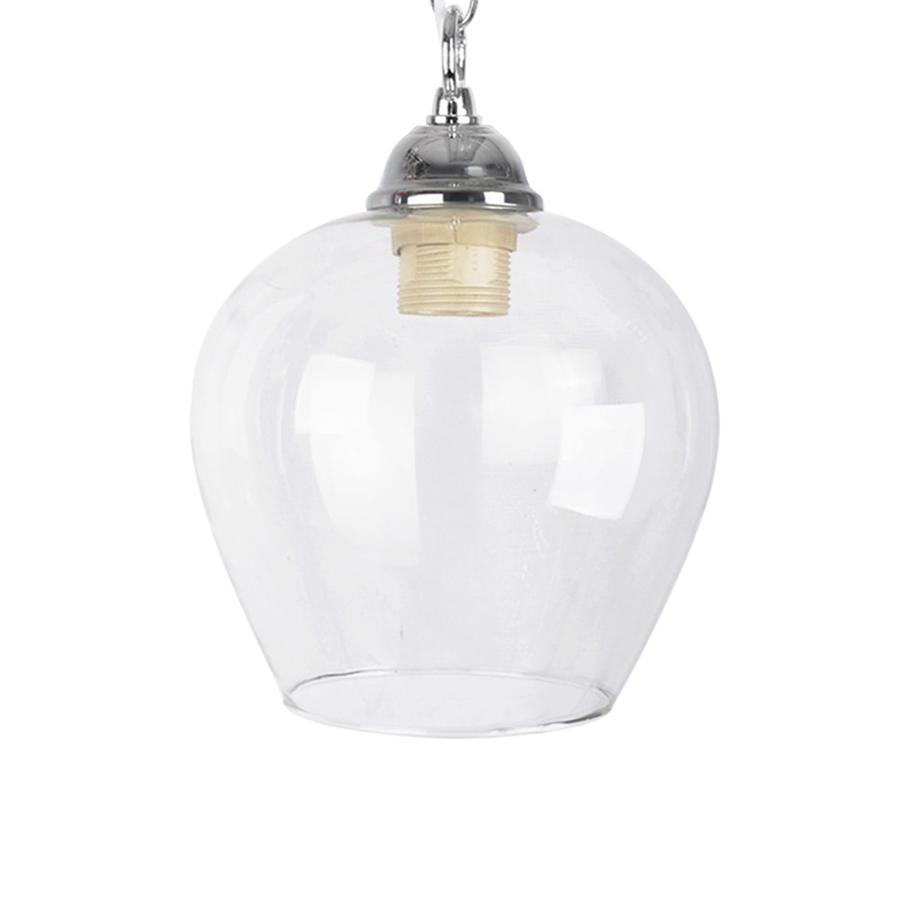 Lewis Bell Shaped Pendant Glass Shade