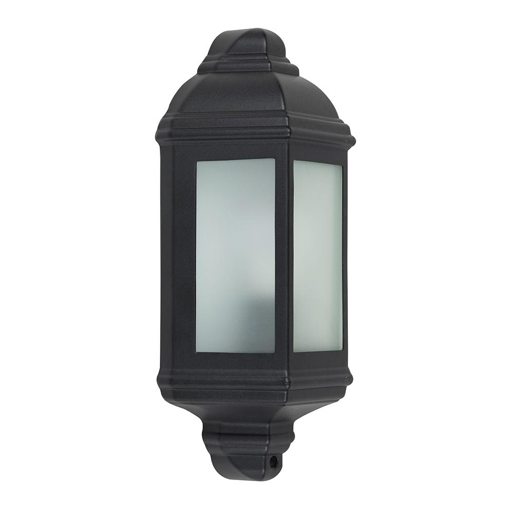 Banbury IP44 Wall Mounted Lantern in Black