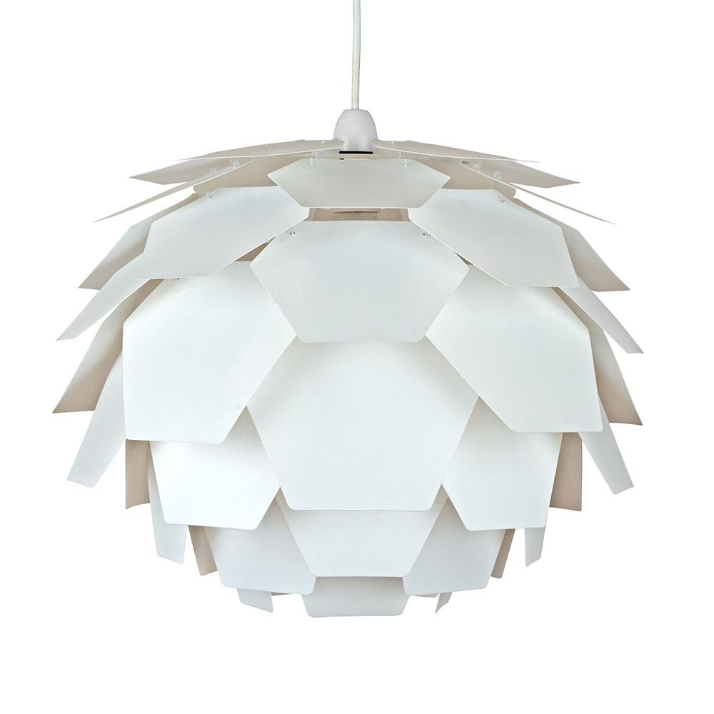 Petale Pendant Shade in White