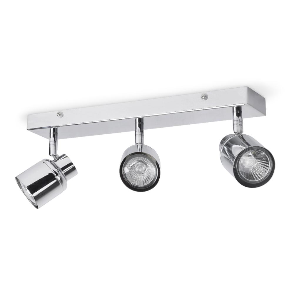 Benton IP44 3-Way Adjustable Bar Light in Chrome