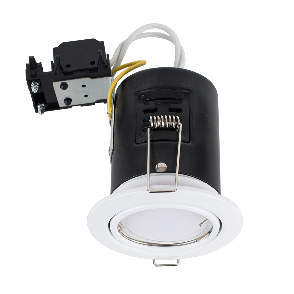 MiniSun Tiltable Fire Rated Downlight in White