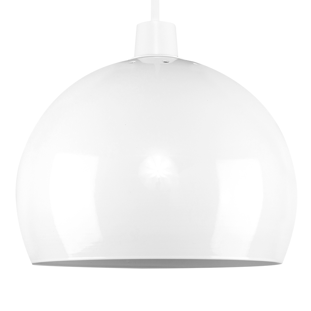Mini Arco White Pendant Shade
