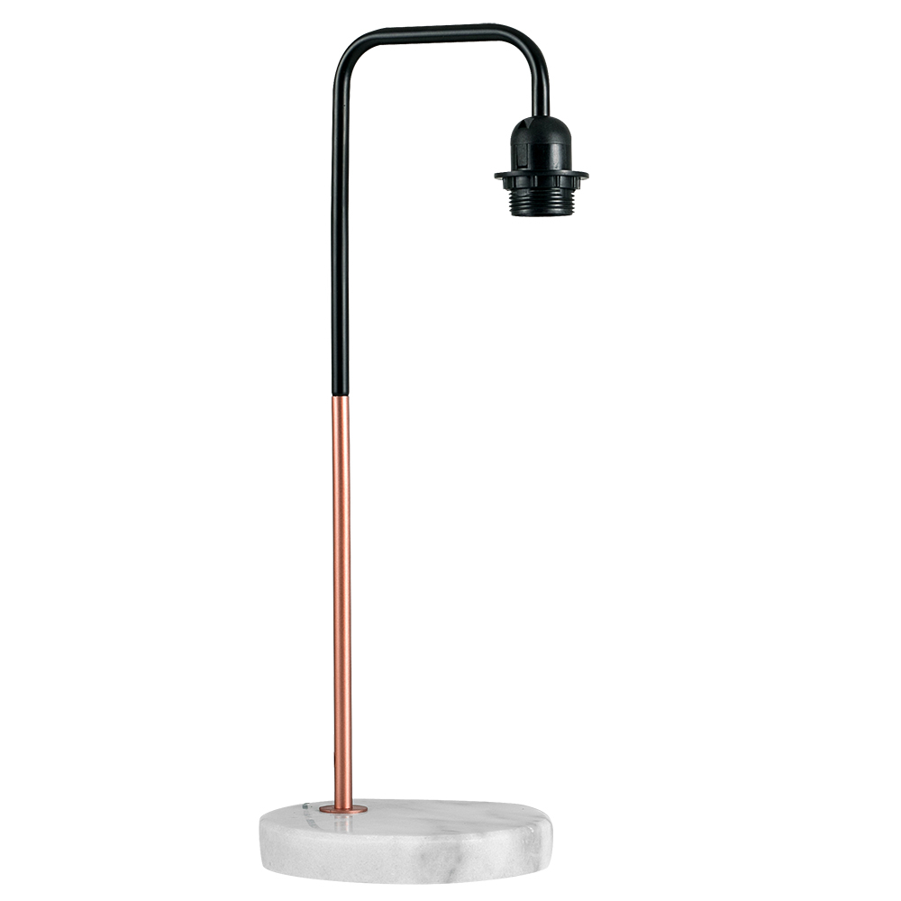 Talisman Table Lamp in Black and Copper