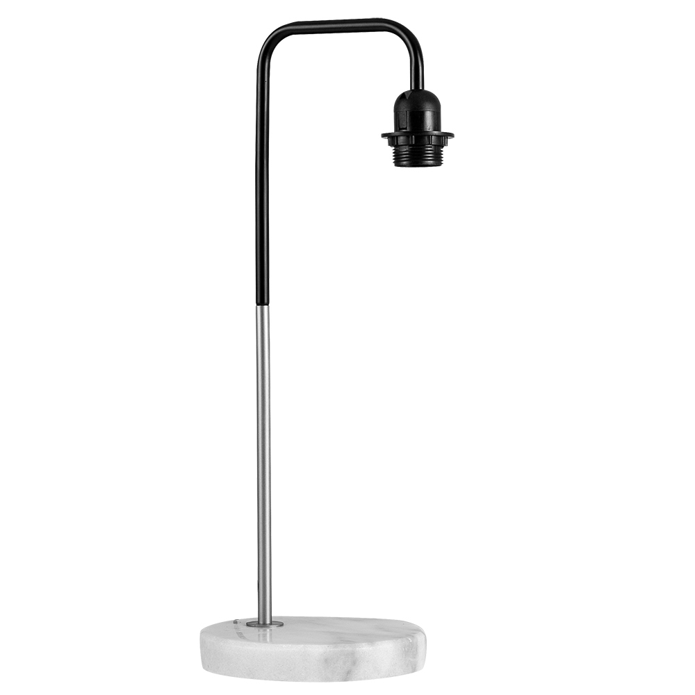 Industrial Style 'Talisman' Brushed Chrome Table Lamp with W