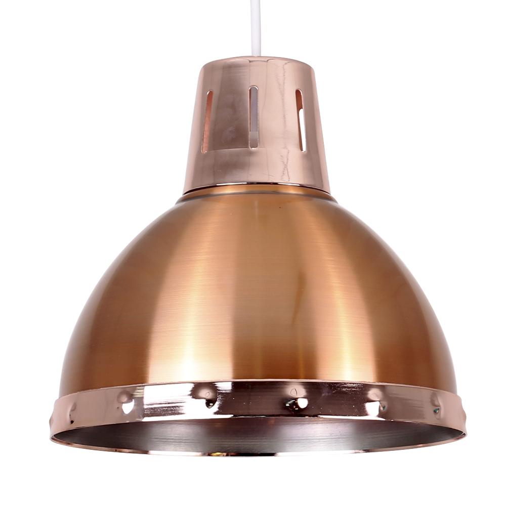 Portishead Copper Pendant Shade