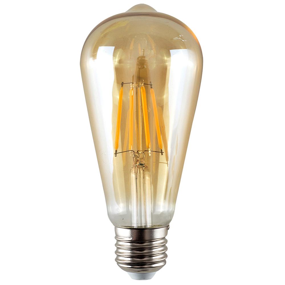 MiniSun Dimmable 4W ES/E27 Filament Pear Shaped Bulb 1800k