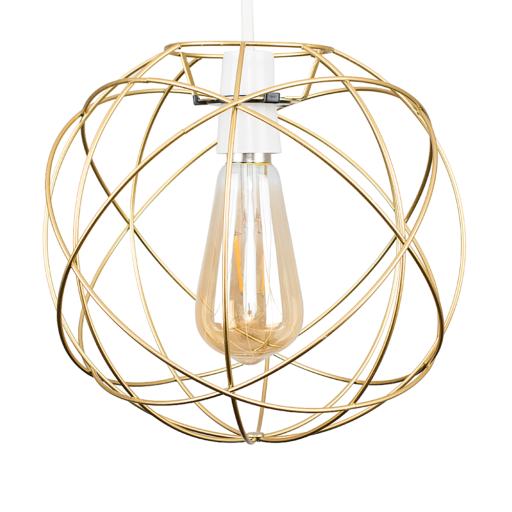 Rutherford Gold Pendant Shade