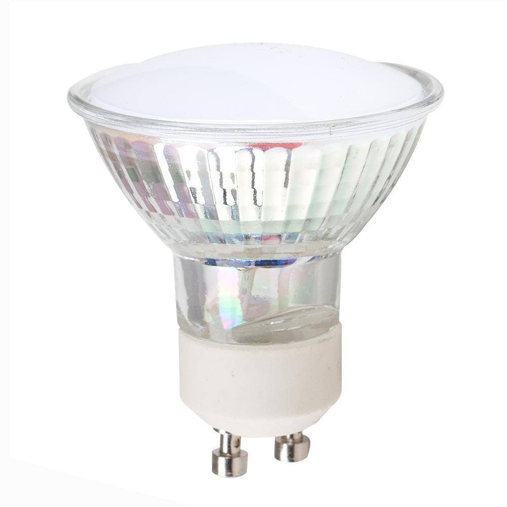 MiniSun 3W GU10 Glass Spotlight In Cool White