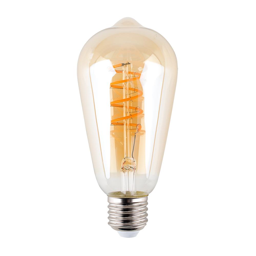 Helix 4W LED Filament Pear Bulb in Warm White
