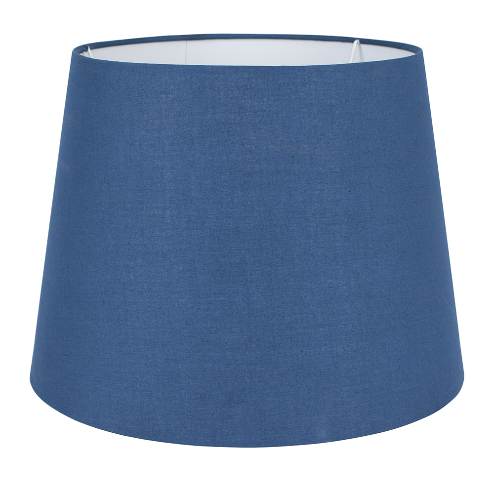 Aspen Large Tapered Shade in Navy Blue