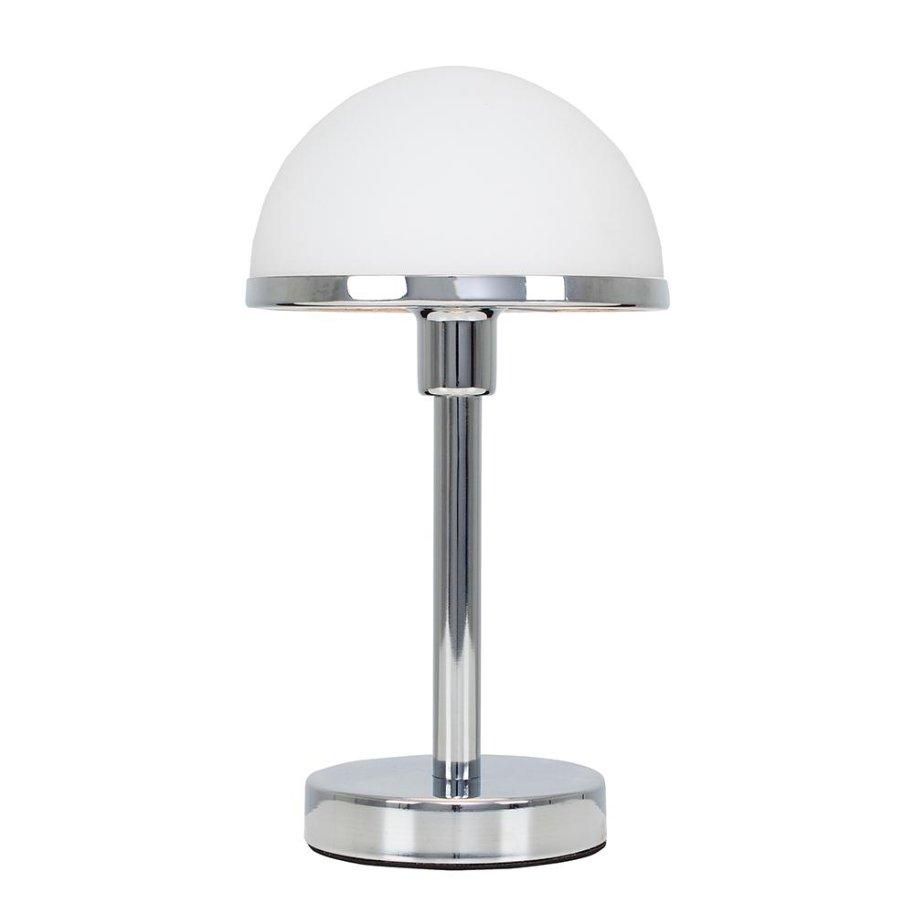 LeVoque Art Deco Table Lamp in White
