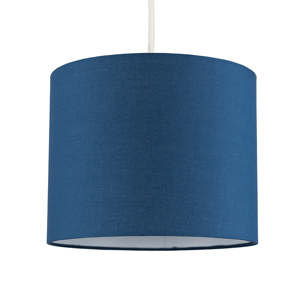 Reni Small Pendant Shade in Navy Blue