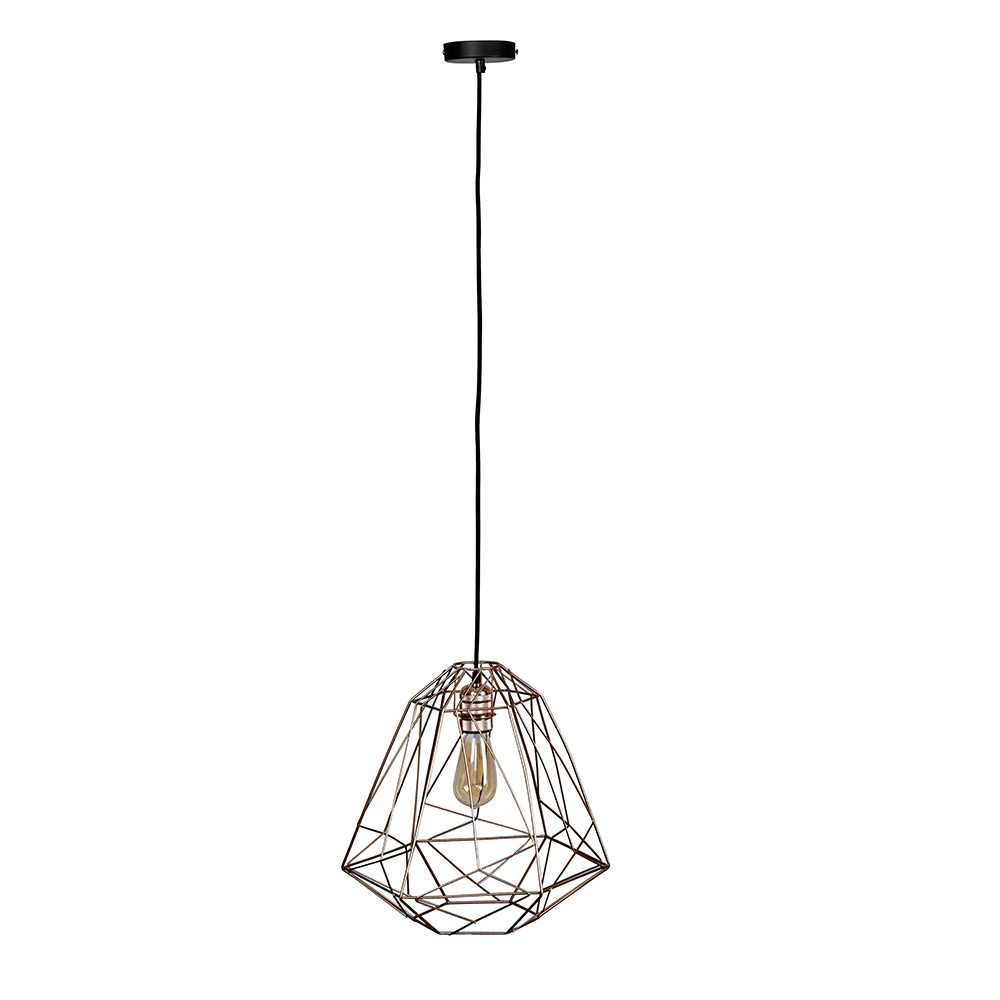 Uriel Feather Pendant Shade in White