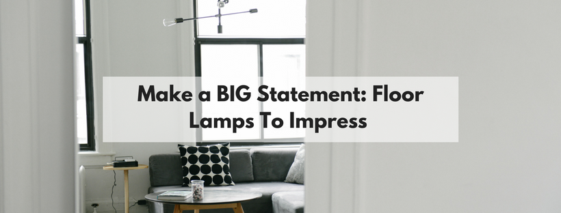 Blog make a big statement floor lamps to impress these lamps beg for attention they are the focal point of the room and they emphasise the personality of the individual who purchased them aloadofball Choice Image