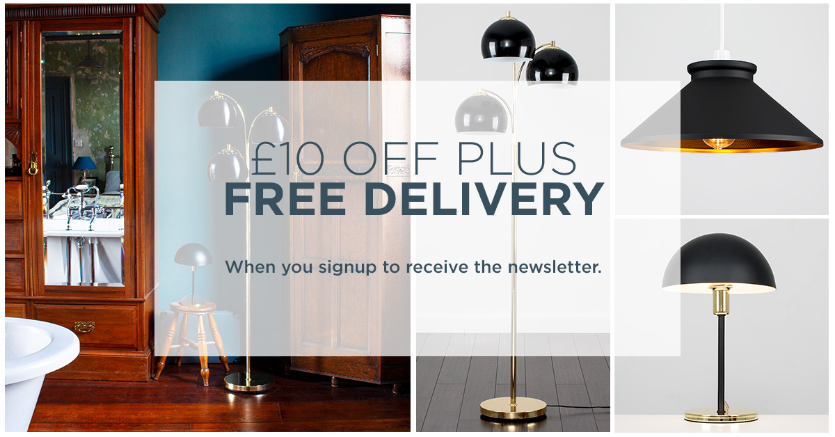 £10 Off & Free Delivery