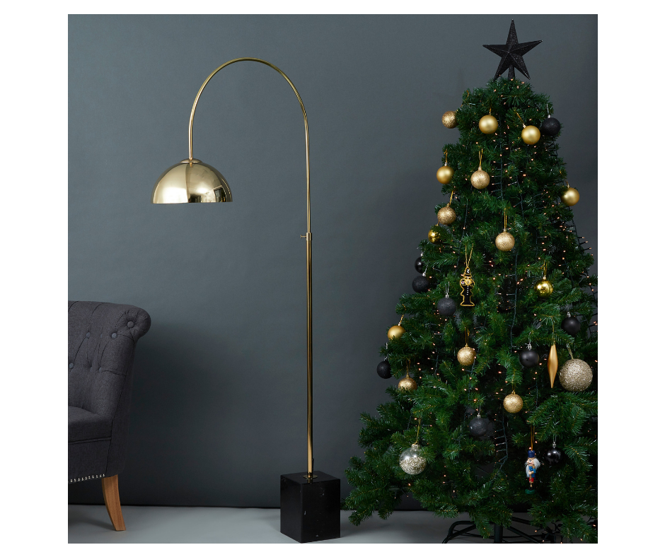Black and Gold Themed Christmas