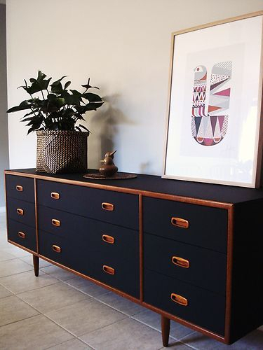 Copper Feature Side Board