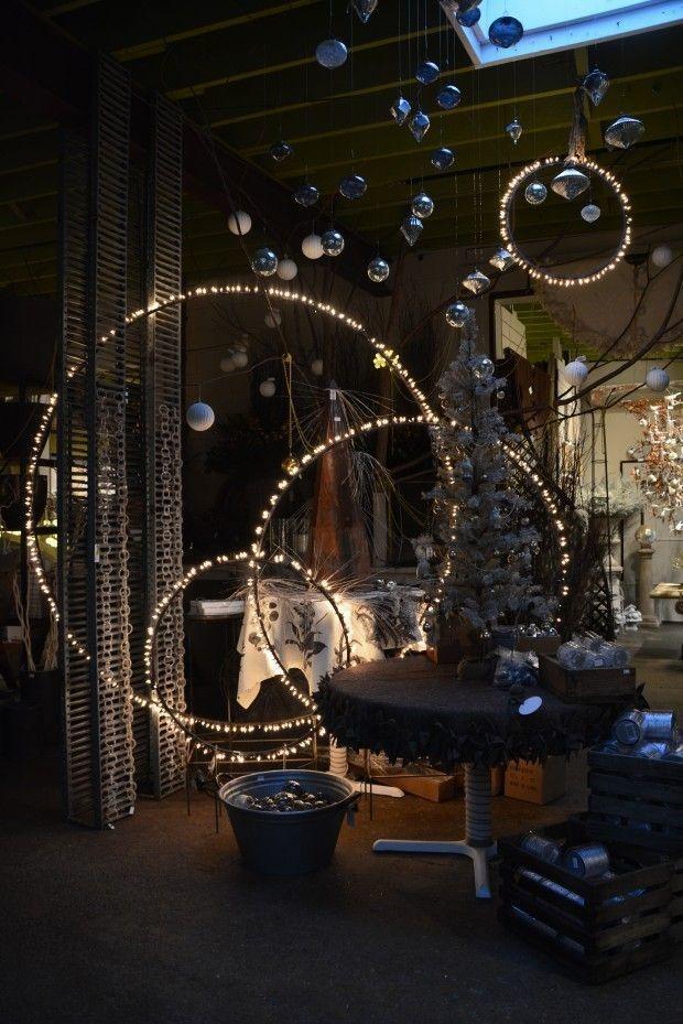 Hoop and Fairy Lights