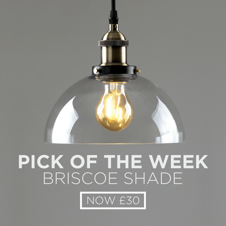 Pick of the Week callout - featuring the briscoe shade