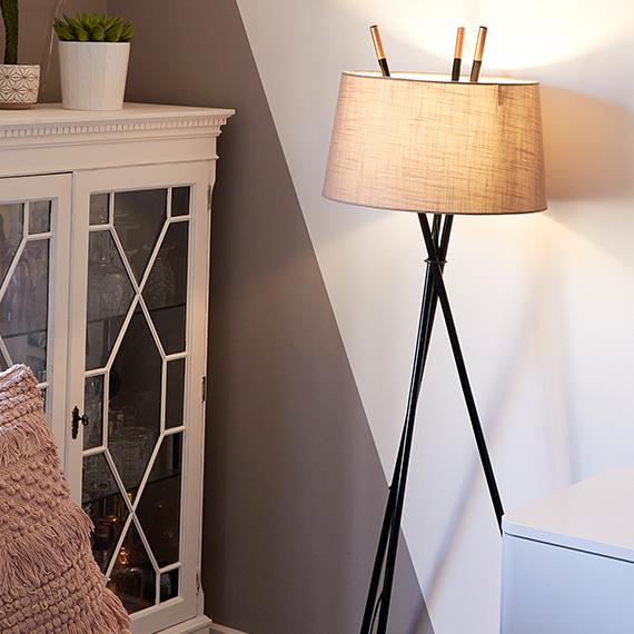 Floor Lamps Tripod Arc Standing Floor Lamps Iconic Lights