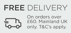 Free Delivery On Orders £60 And Over