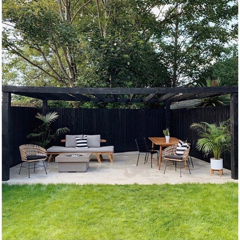 The House That Black Built garden