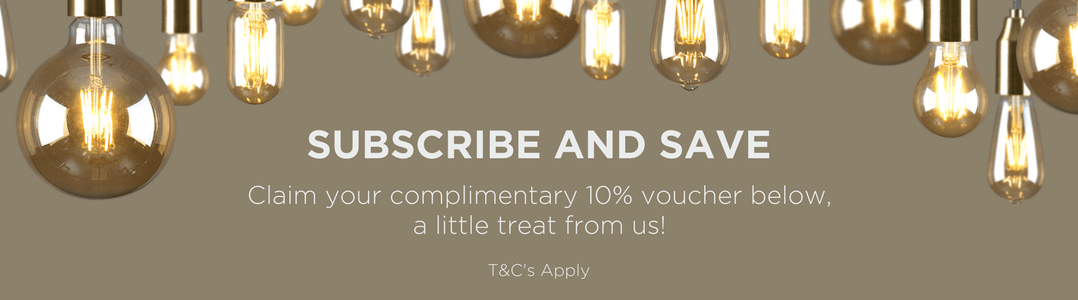 Join the Iconic Lights Mailing list for 10% off