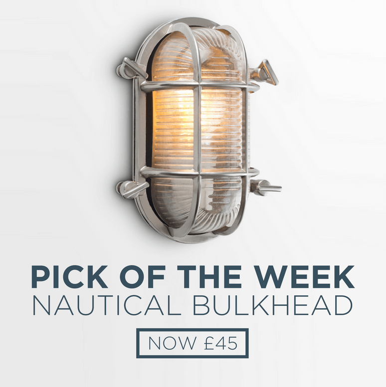Pick of the Week:Oval Nautical Outdoor IP66 Rated Bulkhead