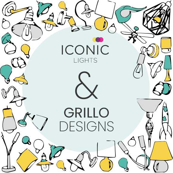 Grillo Designs x Iconic Lights